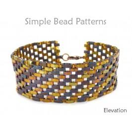 Half Tila Bracelet Pattern DIY Jewelry Making Beading Tutorial