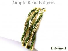 Easy DIY Bracelet Jewelry Making Tutorial by Simple Bead Patterns