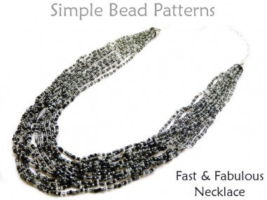 Learn How to Make a Multi Strand Necklace with Seed Beads Tutorial