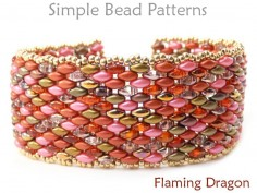 SuperDuo Bracelet Tutorial DIY Jewelry Making Beading Pattern
