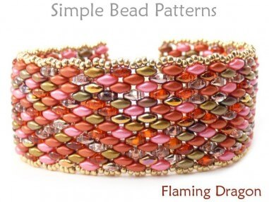 SuperDuo Bracelet Tutorial DIY Jewelry Making Beading Pattern