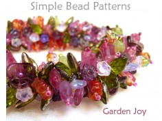 Beaded Flower Bracelet Necklace Pattern Jewelry Making Tutorial