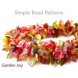 Beaded Flower Bracelet Necklace Pattern Jewelry Making Tutorial