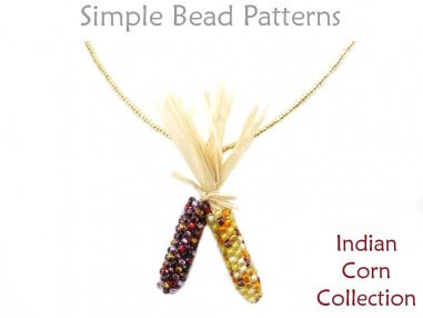 cd3f9ef7b4691 Indian Corn Collection Beading Pattern