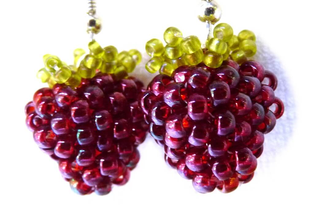 Beaded Berries DIY Beading Pattern